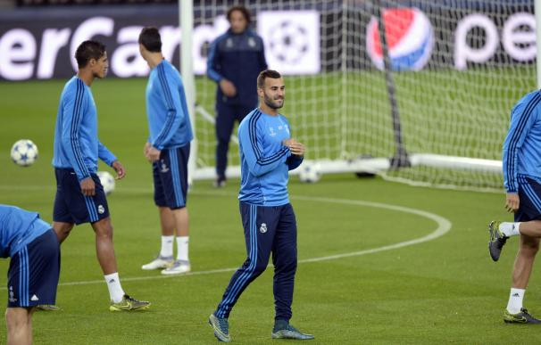 Real Madrid's forward Jese Rodriguez takes part on