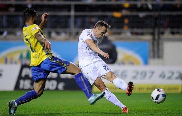 Cheryshev marcó el primer gol del Madrid en Cádiz