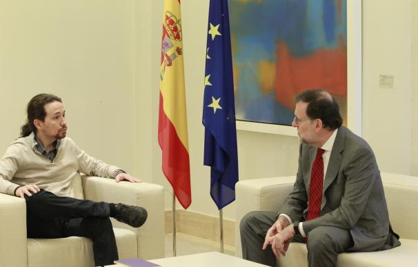"""Iglesias insiste en la exigencia de referéndum en Cataluña y ve al PSOE """"preocupado de sí mismo"""", no del país"""