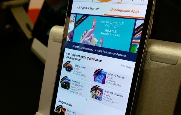 Amazon lanza Underground, una tienda para Android con aplicaciones gratuitas que normalmente son de pago