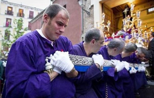 Procesión del Cristo de Medinaceli, en Madrid.