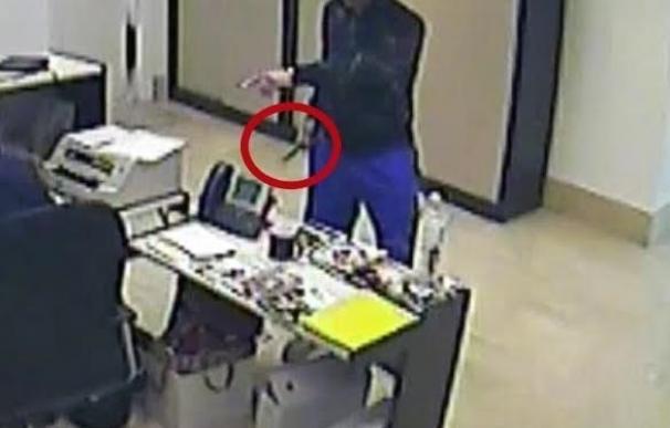 Detenido un logroñés por el robo a punta de cuchillo de dos entidades bancarias de Alberite (La Rioja) y Oyón (Álava)
