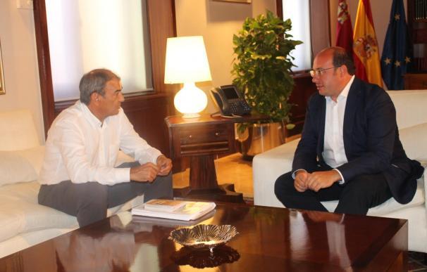 """Gobierno destaca labor presidente CEPES, """"por impulsar cooperativismo y posicionar a Murcia como sede economía social"""""""