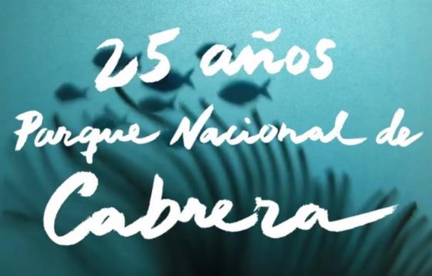 Oceana celebra el 25 aniversario del parque de Cabrera con un vídeo con imágenes de su futura ampliación