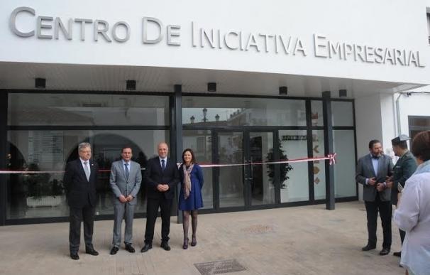 Diputación y Junta inauguran el Centro de Iniciativa Empresarial de Villafranca
