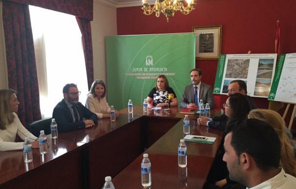 López anuncia el inicio de obras en la A-6052, en Santiago de Calatrava, por 4,16 millones de euros