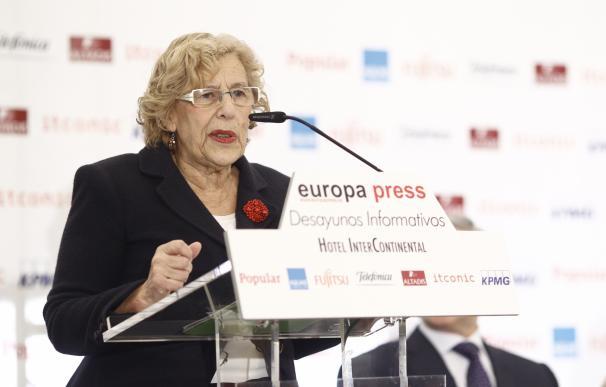 Carmena espera que se aproveche el periodo electoral para buscar acuerdos y proyectos generales