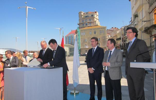 UVigo y Xunta firman el acuerdo para construir la sede de la institución académica en O Berbés, que estará lista en 2018
