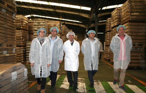 Heredia destaca el crecimiento del 10% de las industrias agroalimentarias en la provincia