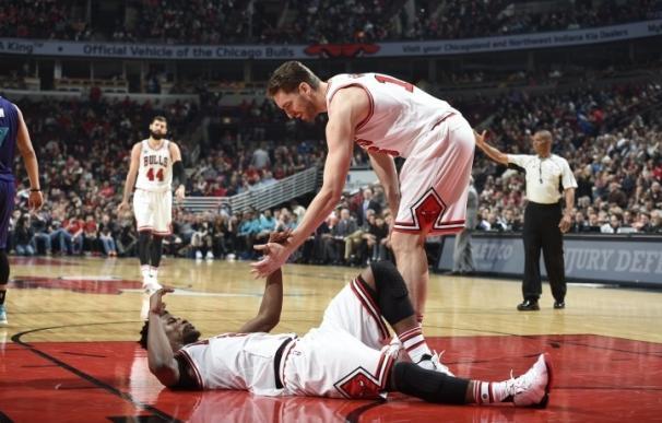 Pau Gasol y Ricky Rubio brillan en las victorias de Bulls y Timberwolves