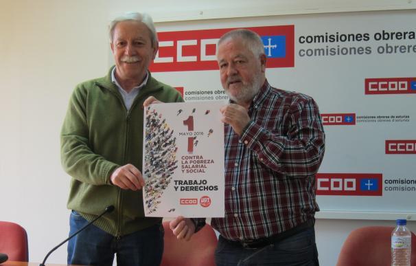 Los sindicatos se movilizan contra la pobreza salarial y social en el acto central del 1 de mayo