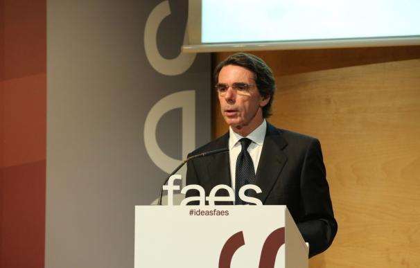 Aznar entregará en el Capitolio el premio FAES de la Libertad a dos ONG asociadas a los partidos Demócrata y Republicano