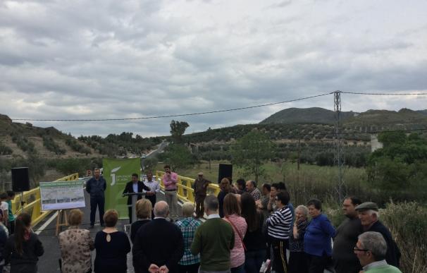 Diputación invierte 145.000 euros para acondicionar la carretera de acceso a la población de Garcíez