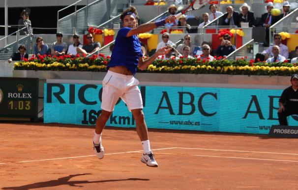Federer confirma su participación en Madrid para buscar su cuarto título
