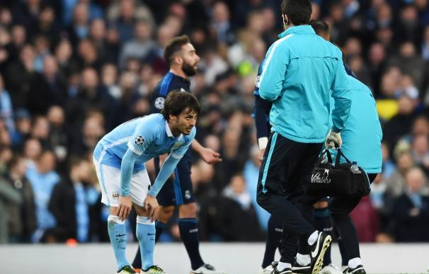 David Silva se perderá la vuelta de semifinales contra el Real Madrid