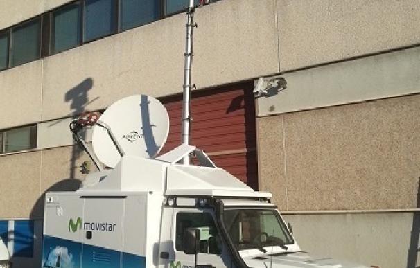 Telefónica desplaza una unidad móvil de emergencia a Bujaruelo para ayudar a localizar al montañero desaparecido