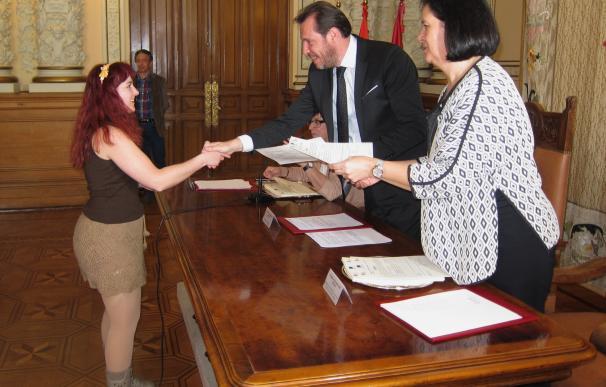 Los programas de Formación y Empleo del Ayuntamiento de Valladolid para jóvenes y parados finalizan con 158 contratos