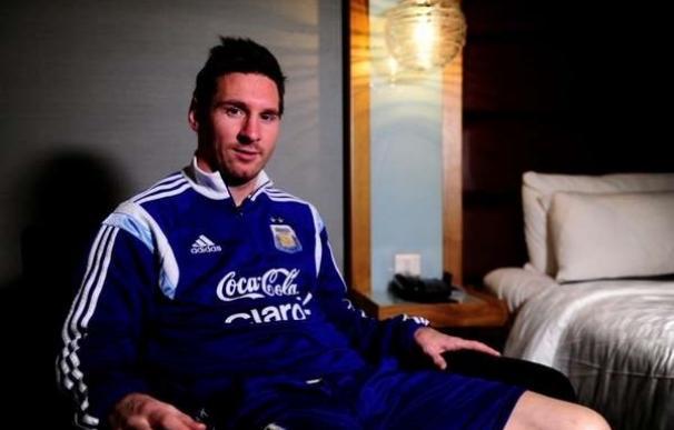 """Messi: """"Del Mundial me dolieron las críticas"""""""