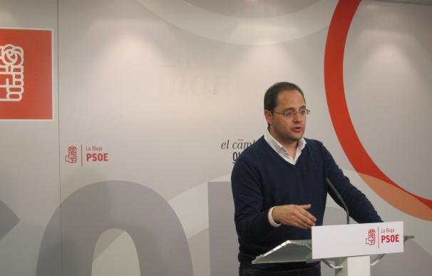 César Luena, secretario general del PSOE.