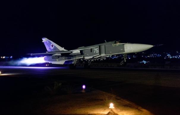 Rusia lanza bombardeos contra Estado Islámico en Siria