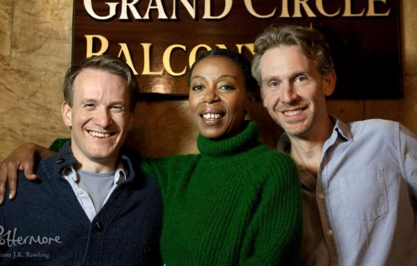 Jamie Parker, Noma Dumezweni y Paul Thornley protagonizan 'Harry Potter and the Cursed Child' / Pottermore