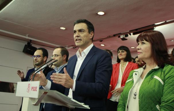 """Pedro Sánchez dice que es el PP quien debe """"intentar formar gobierno"""" pero recalca que """"España quiere izquierda"""""""