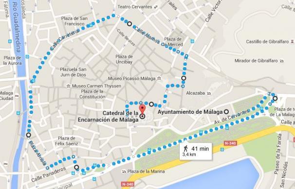 Reyes Magos 2016: Horario y recorrido de la cabalgata de Málaga