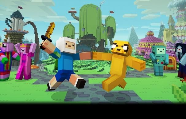 Hora de Aventuras llega a Minecraft Edición para Consolas