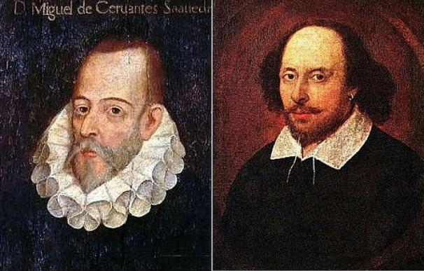 Las raras coincidencias entre las vidas de Shakespeare y Cervantes
