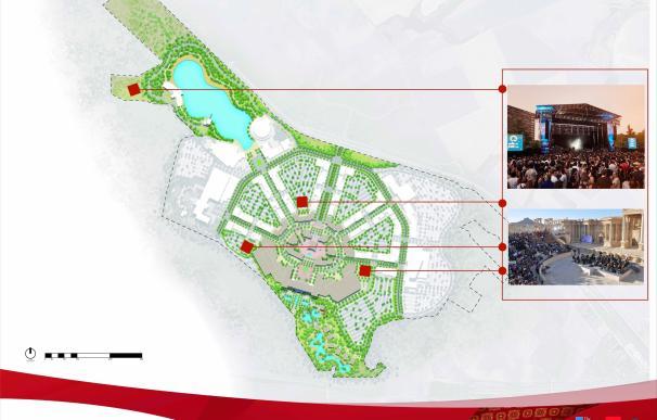 """Cordish trabaja en las tecnologías que permitan levantar el centro """"más innovador de Europa"""" medioambientalmente"""