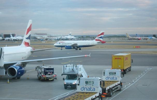 British Airways prevé cumplir este martes con su calendario de vuelos desde Heathrow y Gatwick