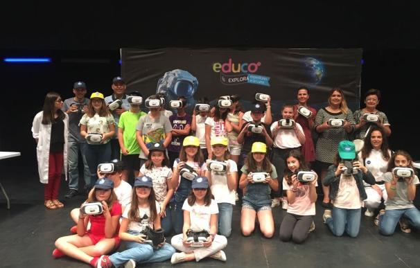 Más de 120 alumnos de quinto de primaria de Huércal-Overa participan en el Taller 'Expedición a la Luna'