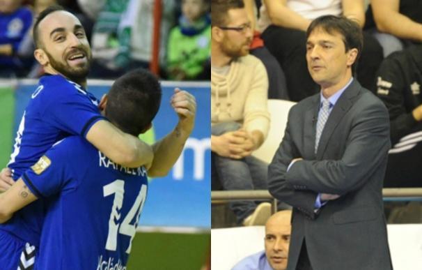 Ricardinho y Arregui, mejor jugador y entrenador de Primera División para la ANEFS