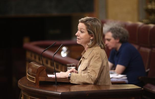 Ana Oramas acude a las votaciones de los Presupuestos en el Congreso el mismo día del fallecimiento de su padre