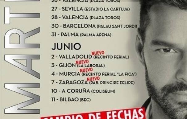 Ricky Martin llega este martes al Palau Sant Jordi de Barcelona con 'One World Tour'