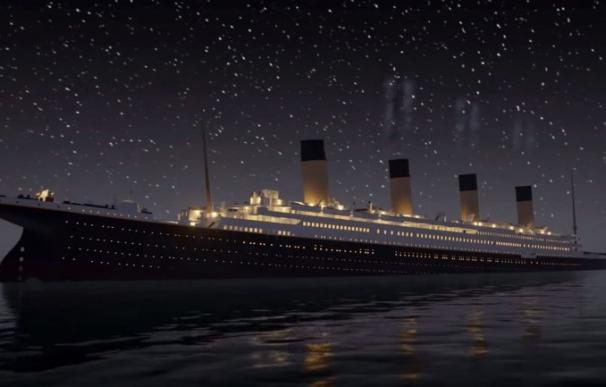 Un vídeo recrea minuto a minuto cómo fue el hundimiento del Titanic