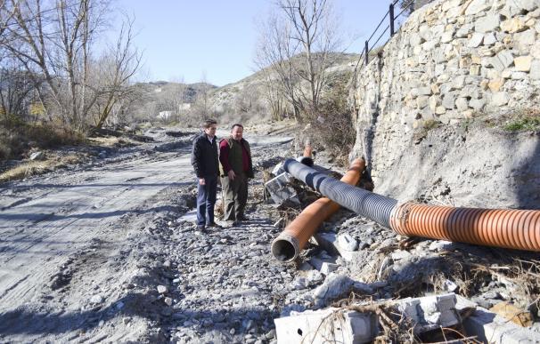 Diputación invierte 350.000 euros en renovar las redes hídricas en Alcóntar, Hijate y Los Domenes
