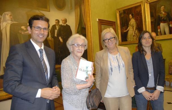 La poeta uruguaya Ida Vitale recoge este miércoles el Premio Federico García Lorca de Poesía