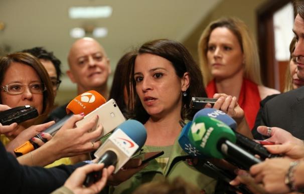 """Lastra dice que """"se intentará"""" que haya integración en la ponencia del PSOE y reitera que no se castigará a nadie"""