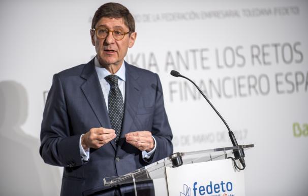 Goirigolzarri (Bankia) pide incidir en las reformas para seguir creciendo y atajar el desempleo