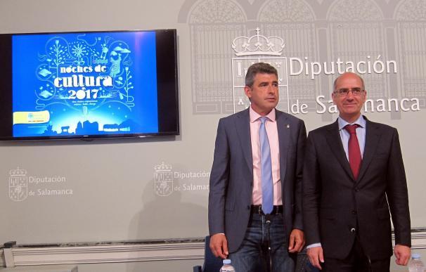 Las 'Noches de Cultura' de la Diputación de Salamanca llegarán este verano a 74 pueblos, catorce más que el año pasado