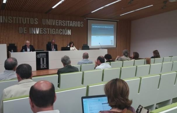 Los presupuestos de la Universidad de Extremadura suben un 1,42% hasta los 140 millones de euros