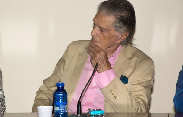 Jaime Ostos y Ortega Cano, juntos en la presentación de un libro en Las Ventas