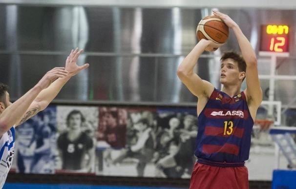 El Barça renueva al capitán y 'MVP' del junior Sergi Martínez hasta 2021
