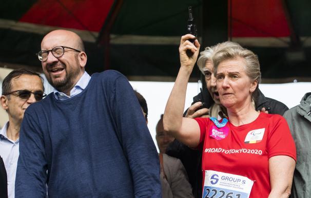 Un pistoletazo de salida deja sordo de un oído al primer ministro belga