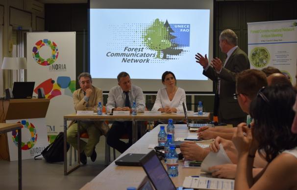 Comunicación, bosques y cambio climático, a debate en el centro de innovación La Noria