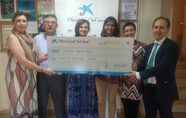 'la Caixa' y la Asociación Hermano Mundo promueven la operación 'Kilo de Ayuda' en Torrero