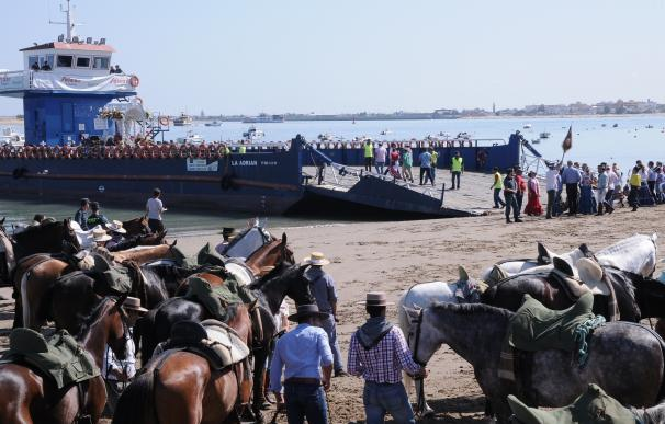 Un total de 2.628 romeros cruzan por Bajo de Guía y 2.330 por el Vado del Quema en la segunda jornada del Plan Romero