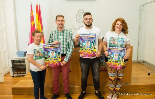 Organizan una gala benéfica en Cartagena para sumarse a la causa de un niño que sufre una enfermedad congénita