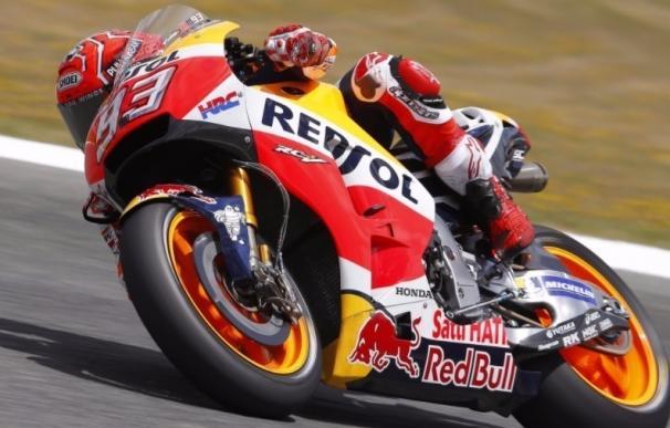 """Márquez: """"Confío en que el nuevo neumático delantero me ayudará"""""""
